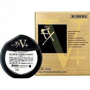 Капли для глаз Sante FX V+ Gold Япония