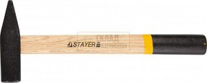 #VALUE! STAYER 400 г молоток слесарный с деревянной рукояткой