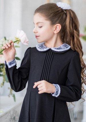 Комплект из воротничка и манжетов для школьного платья Первоклашка.