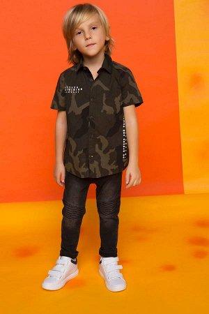 """Рубашка для мальчика """"камуфляж"""""""