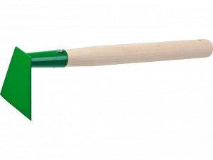 Мотыга Мотыга, РОСТОК 39661, с деревянной ручкой, ширина рабочей части - 100мм