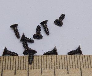 Саморезы. Цв.Бронза 6х2,5 мм