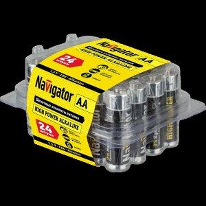 Батарейки NAVIGATOR 94 786 NBT-NE-LR6-BOX24 (120/720)(Цена за 24 шт.)