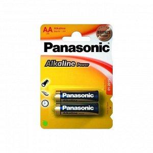 Батарейки PANASONIC ALKALINE LR6/2BP (24)(Цена за 2 шт.)