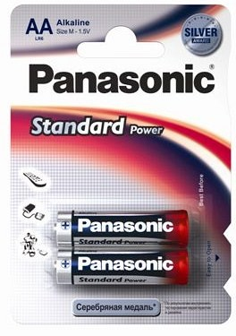 Батарейки PANASONIC EVERYDAY LR6/2BP (24) (Цена за 2 шт.)