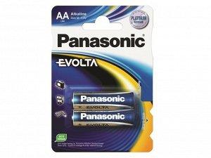 Батарейки PANASONIC EVOLTA LR6/2BP (24)(Цена за 2 шт.)