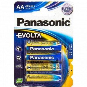 Батарейки PANASONIC EVOLTA LR6/4BP (48)(Цена за 4 шт.)