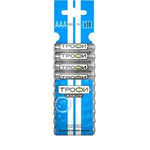 Батарейки Трофи LR03-10BL(Цена за 10 шт.)