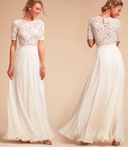 Платье белое р 44