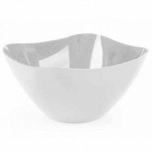 Салатник Салатник 3,0л [РОНДО] СНЕЖНО-БЕЛЫЙ. Стильные салатники Rondo придутся по душе любителям строгих цветов и сдержанных форм. Такая посуда особенно хорошо будет смотреться в кухнях в стиле хай-те