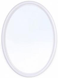 Зеркало Зеркало СНЕЖНО-БЕЛЫЙ [Sonata]. Зеркало классической овальной формы Sonata может крепиться к стене как вертикально, так и горизонтально. Цветовая палитра светлых тонов позволит подобрать данный