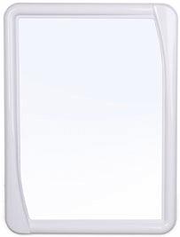 Зеркало Зеркало СНЕЖНО-БЕЛЫЙ [Версаль]. Прямоугольное зеркало Versal полностью соответствует своему названию и добавит в интерьер нотку изысканности и аристократизма. Цветовая гамма обрамления будет г