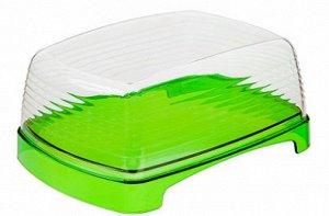 Масленка Масленка [ФРЭШ] ЯБЛОКО. Для хранения масла изделие используется вниз поддоном, на котором умещается стандартная упаковка продукта. В перевернутом состоянии в глубокую крышку удобно положить т