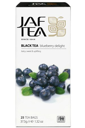Чай JAF Blueberry Delight черный, 25пак