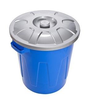Бак Бак 58,0л с крышкой [ГРОССО]. Многофункциональные баки из пластмассы используются для хранения пищевых продуктов и воды. Особенно актуальны баки для тех мест, где в летний период случаются профила