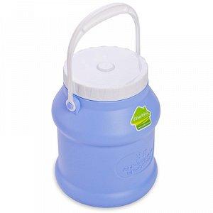 Бидон Бидон 3,0л [ПРОСПЕРО]. Пластиковые бидоны с крышками отлично подойдут для хранения и транспортировки жидких (воды, молока, масла, варенья) или сыпучих (крупы, сахар) продуктов. Плотно прилегающи