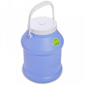 Бидон Бидон 5,0л [ПРОСПЕРО]. Пластиковые бидоны с крышками отлично подойдут для хранения и транспортировки жидких (воды, молока, масла, варенья) или сыпучих (крупы, сахар) продуктов. Плотно прилегающи
