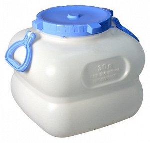Бочка Емкость-Бочка 30,0л с ручками [ГРАНДЕ]. Пластиковые фляги для воды, благодаря своей универсальности, нашли широкое применение в быту. Пластиковые фляги используются для хранения и транспортировк