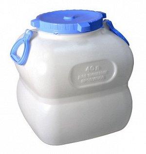 Бочка Емкость-Бочка 40,0л с ручками [ГРАНДЕ]. Пластиковые фляги для воды, благодаря своей универсальности, нашли широкое применение в быту. Пластиковые фляги используются для хранения и транспортировк