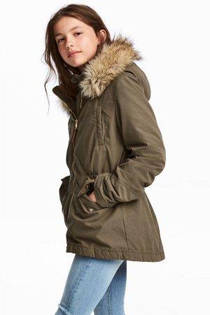 Модная куртка H&M для девочки, на рост 158-164