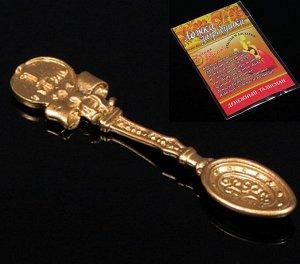 Ложка с Бантиком, цвет золото в упак