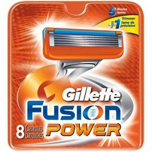 Gillette сменные кассеты Fusion Power 8 шт