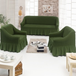 Чехол для мебели 3 предм, олива