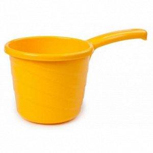 Ковш 1,3л Ковш 1,3л СОЛНЕЧНЫЙ [PRACTIC]. Незаменимый в быту ковш Practic на 1,3 литра приятно разнообразит ассортимент вашей продукции яркими, сочными красками. Дача, баня, ванная комната, кухня, детс