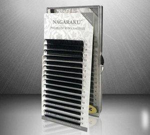 Угольно-чёрные реснички  Размер: 0.10mm C 7-15mm
