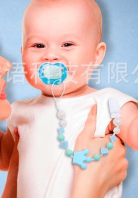 Цепочка с прищепкой для детской соски