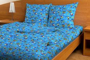 Комплект детский (синий)