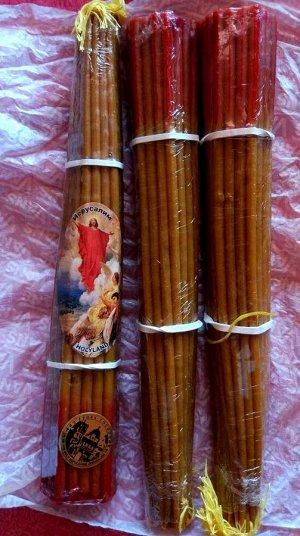 НЕТ!!! 33 Иерусалимские медовые свечи