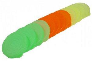 Крышка Крышка полиэтиленовая для банок 12шт колор. Размеры изделия: 390х115х58 мм.