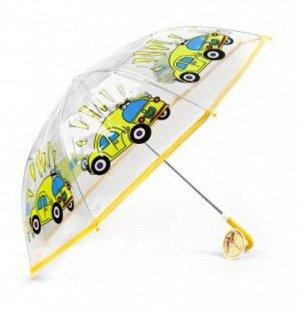 Зонт детский Автомобиль,46 см.