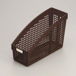 Корзина Корзина   104*271*178мм ШОКОЛАД. Красивые и стильные корзины для хранения вещей идеально впишутся в интерьер любой квартиры, сэкономят место, добавят ярких акцентов в дизайн. Корзины подойдут