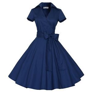 Платье в стиле 60-х, размер 46