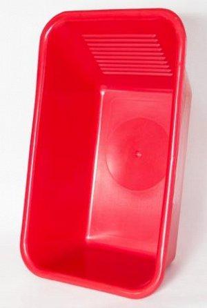 Таз 35,0л Таз 35,0л хозяйственный со стиральной доской. Очень крепкий пластик, имеет в своем составе капрон.