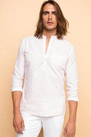 Рубашка / сорочка мужская светло-розовая