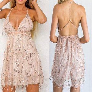 Платье короткое на бретельках цвет: НА ФОТО