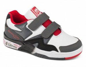Обувь детская Ботинки для мальчика KB1704WG Wei?/Grau KING BOOTS