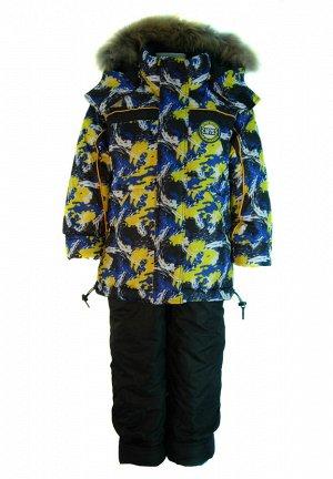 Парка Прежняя цена  3015,32 р. Куртка зимняя, ткань: верх - 100% п/э ТАСЛАН с водонепроницаемой пропиткой PU, подкладка верх - флис, утеплитель 400 гр/м, трикотажные манжеты, съемная натуральная мехов