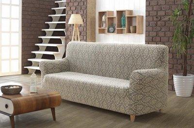💥Срочно!1000 скидок! Только качество! Только лучшее!Турция  — Плотный материал. Чехол для дивана трехместный MILANO.СКИДКА — Чехлы для мебели