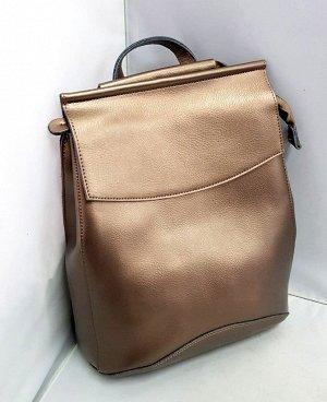 Рюкзак -сумка. Кожа. Реальные фото