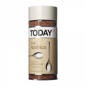 """Кофе """"TODAY"""" растворимый Pure Arabica 95 г"""