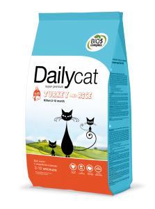 Премиум корма + Наполнители, смываемые в унитаз! — DailyCat Kitten — Корма