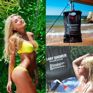 Любимая дача и активный отдых... №4 — Переносной летний душ — Другое