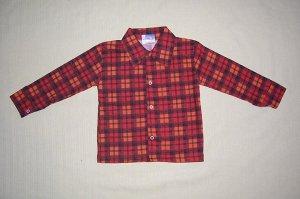 Рубашка фланель ( на кнопках).