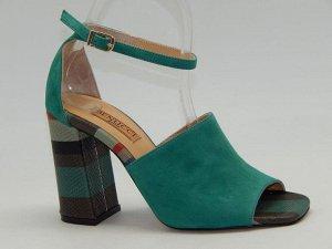 Туфли с идеально изумрудным цветом(Турция)