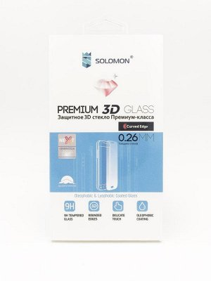 Защитное стекло Solomon 3D  Full Glue Honor 7A Pro//7C/ (White)