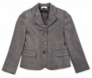 Пиджак трикотаж для девочки. Черный. Дешевле СП.
